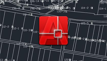 캐드(DXF)용 연속지적도 다운로드 방법